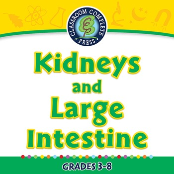The Excretory System - Kidneys and Large Intestine - PC Gr. 3-8