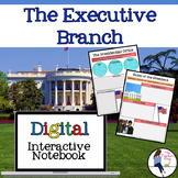 The Executive Branch Interactive Notebook for Google Drive