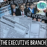 The Executive Branch PowerPoint and Guided Notes (Print an