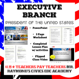 The Executive Branch - Structure, Presidential Powers & Roles