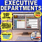 The Executive Departments   The Executive Branch   Distance Learning Pack