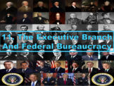 The Executive Branch and Federal Bureaucracy (AP Government) Bundle with Video