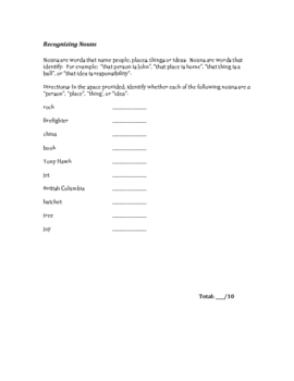 The Exhaustive English Grammar Activity Package