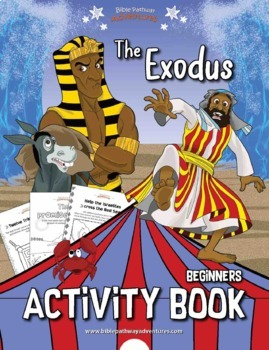 The Exodus Activity Book for Kids Ages 3-5
