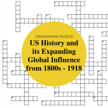 The Expanding Global Influence of the U.S. from 1800s to 1918