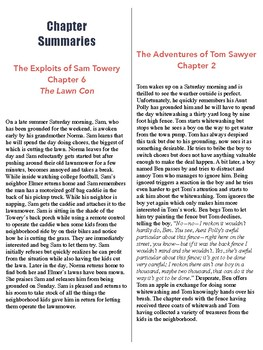The Exploits of Sam Towery Chapter Comparison Guide