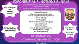 The Exponential Functions Bundle (12 Activities!)