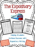The Expository Express:  Empowering Writers with Expository Writing