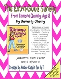 The Extra-Good Sunday Mini Pack Activities 3rd Grade Journeys: Unit 3, Lesson 15