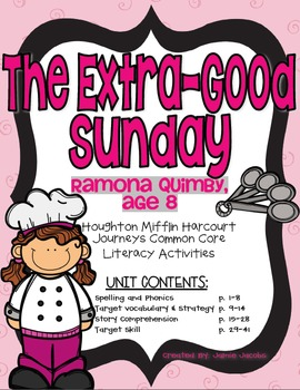 The Extra-Good Sunday (Journeys Supplemental Materials)