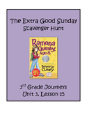 The Extra Good Sunday Scavenger Hunt, 3rd Grade Journeys, Unit 3, Lesson 15