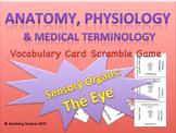 The Eye: Anatomy/ Medical Terminology Vocabulary Scramble Game