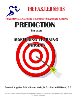 The F.A.S.T.E.R. Series - PREDICTION - Mastering Learning Targets