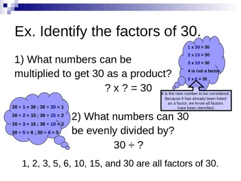 The FACTs about FACTors