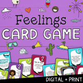 The FEELINGS CARD GAME! Learning About Emotions School Counseling Group Game