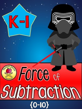 The FORCE of Subtraction: K-1 Mini Book Craftivity & Solve the Room {0-10}