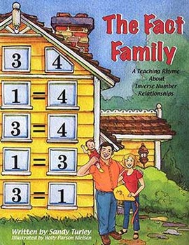 CCSS OA: The Fact Family:A Teaching Rhyme About Inverse Numbers EBook