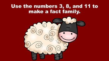 The Fact Family Farm - PowerPoint Game