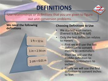 The Factor Label Method
