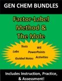 The Factor-Label Method & Mole WHOLE CHAPTER Bundle (for Gen Chem)