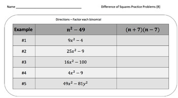 The Factoring Task Card & Practice Problem Bundle – 250 Cards!
