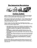 The Factory System of the Industrial Revolution Article