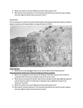 The Failed Siege of Jerusalem (AP World History - updated for 2017-2018 Rubrics)