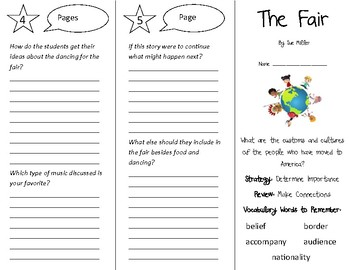 The Fair Trifold - 4th Grade Literacy by Design Theme 2