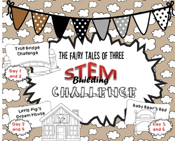 The Fairy Tales of Three STEM Challenge Pack