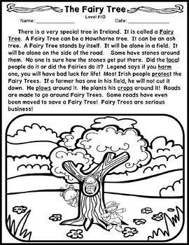 The Fairy Tree Multi-level Reading Passage