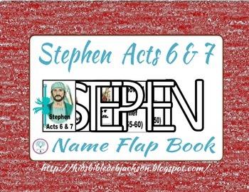 The Faith of Stephen Flap Book Freebie