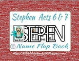 The Faith of Stephen Flap Book