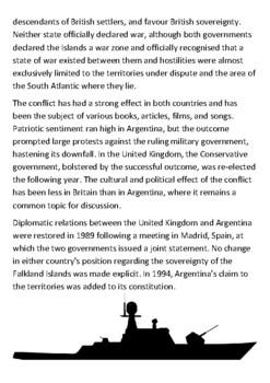 The Falklands War Handout