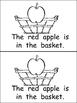 The Fall Basket Emergent Reader for Kindergarten- Autumn/Fall