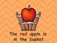The Fall Basket Shared Reading PowerPoint- Kindergarten- Autumn/Fall
