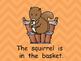 The Fall Basket Shared Reading PowerPoint- Kindergarten- A