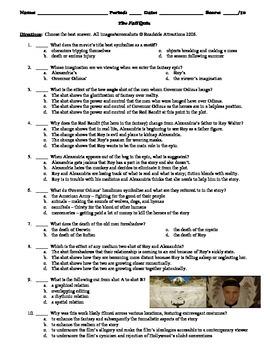 The Fall Film (2006) 10-Question Multiple Choice Quiz