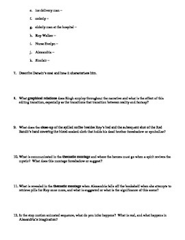 The Fall Film (2006) Study Guide Movie Packet