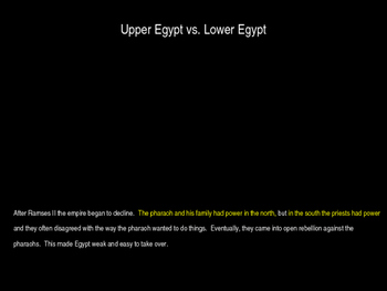 The Fall of Ancient Egypt