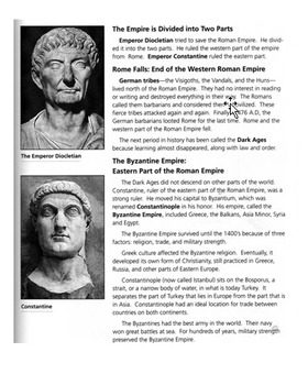 The Fall of Ancient Rome and the Roman Empire