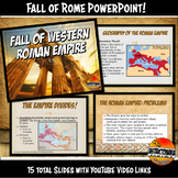 The Fall of Roman Empire Powerpoint