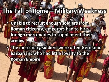 The Fall of Rome
