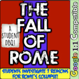 Fall of Rome: A Student Investigation! Explore 7 Documents For Why Rome Fell!