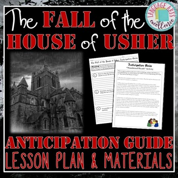 The Fall of The House of Usher Anticipation Guide and Lesson Plan