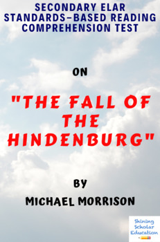 The Fall of the Hindenburg Nonfiction by Michael Morrison MC Reading Test