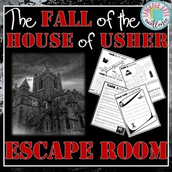 The Fall of the House of Usher ESCAPE ROOM