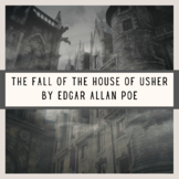 The Fall of the House of Usher Poe Short Story Test Quiz