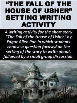 """The Fall of the House of Usher"" Setting Writing Activity"
