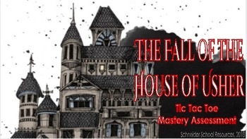 The Fall of the House of Usher: Tic Tac Toe Mastery Assessment