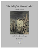 """The Fall of the House of Usher"" by Edgar Allan Poe: 94 Page Short Story Package"